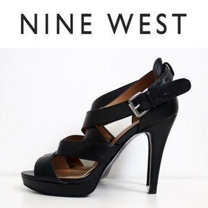 Nine West Strappy High Heeled Sandals
